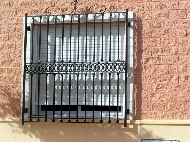 Rejas Construcciones Metálicas Cerrisan Alicante Cerrajería Y