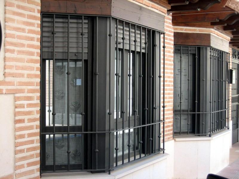 Rejas construcciones met licas cerrisan alicante cerrajer a y estructuras - Rejas de forja antiguas ...