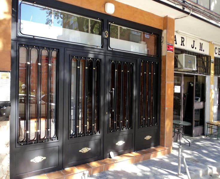 Puertas de hierro forjado segunda mano trendy interesting for Puertas baratas segunda mano