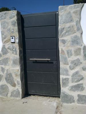 Peatonales construcciones met licas cerrisan - Puertas metalicas jardin ...