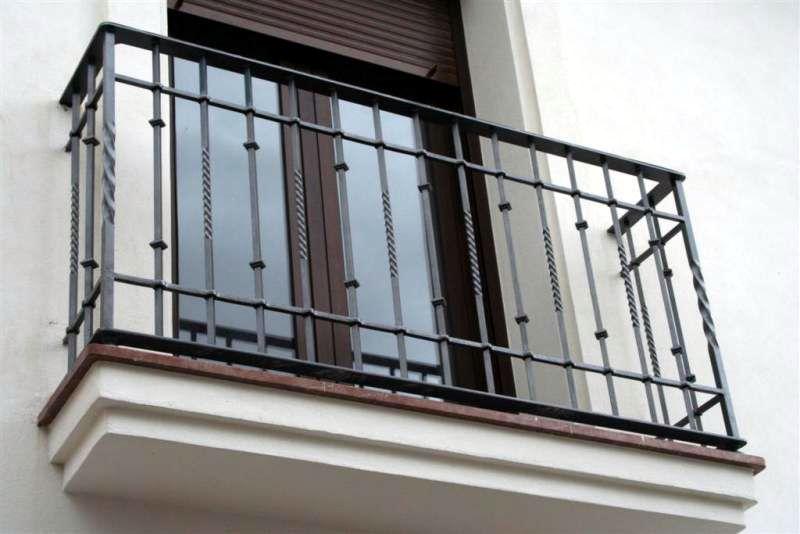 Balcones construcciones met licas cerrisan for Modelos de balcones modernos para casas