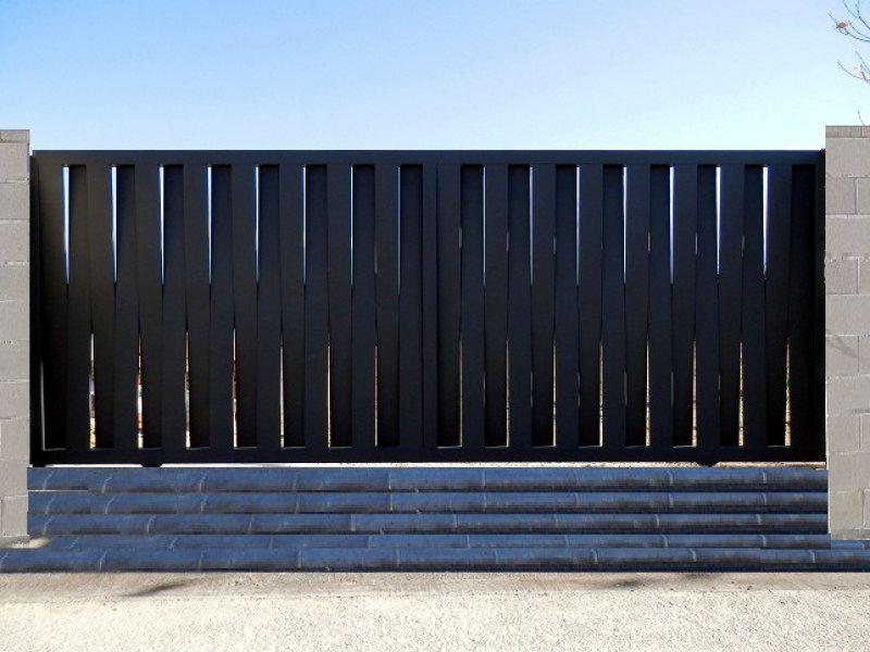 Puertas correderas para vallas